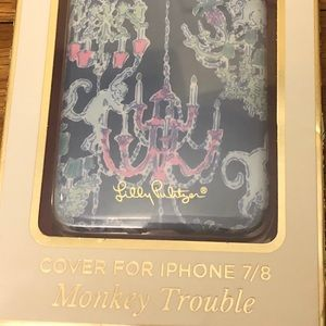 Lilly Pulitzer Monkey Trouble iPhone 7/8 Cover
